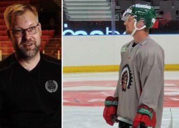 Mikko Manner, den nye Brynästränaren, och Nicklas Lasu, Frölundacentern, har en historia tillsammans. Foto (Manner): BRYNÄS