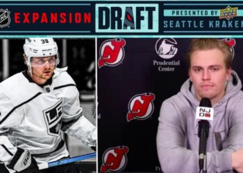 Carl Grundström, Andreas Johnsson – någon av de båda som byter NHL-klubb i natt?