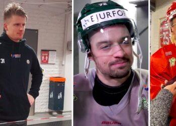 Tre som saknades på måndagsträningen. Frågan är hur det går med Nicklas Lasus fot. Med Ryan Lasch och Patrik Carlsson är det nog ingen större fara, mest småkrassliga.