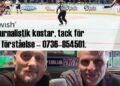 Tack, alla ni som betalar för journalistiken på rakapuckar.com Tisdag – då är det dags för podd igen, med Christian Olsson som gäst.
