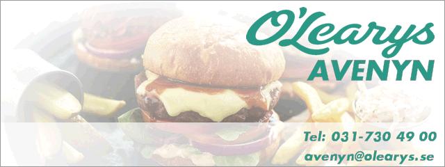 Varmt välkomna till oss på O'Learys Avenyn!