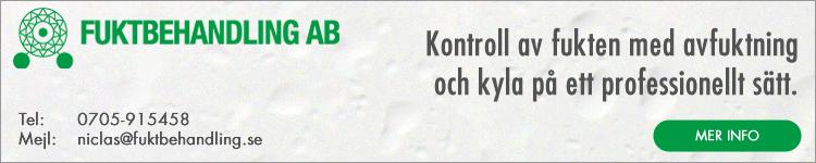 Fuktbehandling AB   kontroll av fukten med avfuktning och kyla på ett professionellt sätt.