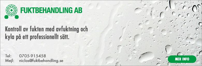 Fuktbehandling AB | kontroll av fukten med avfuktning och kyla på ett professionellt sätt.