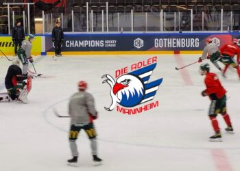Glädje i Frölunda sedan man lottats mot Mannheim i CHL:s åttondelsfinal.