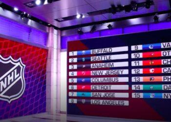 Allt redo för runda 1 i natt. Viaplay sänder NHL-draften med början 02.00. Foto (skärmdump): NHL.COM