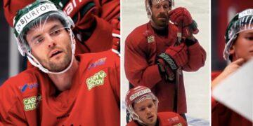 Frölunda kan sakna fyra backar mot Oskarhamn: Stefan Elliott, Jens Olsson, Filip Johansson och Mattias Norlinder.