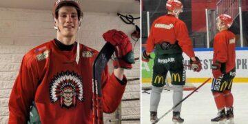 Elmer Söderblom får chansen att lira PP med Ryan Lasch nu när Jacob Nilsson är skadad.