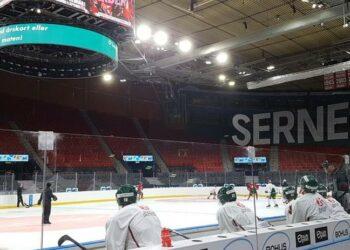 Hur många blir det på torsdag när Scandinavium äntligen får fyllas igen? 7000 sålda biljetter inför torsdagsmatchen mot Örebro.