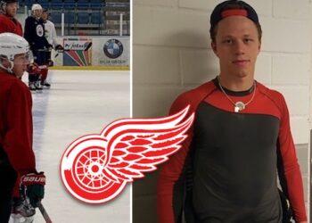 Lucas Raymond lämnar Sverige i höst för att pröva sina vingar i Detroit. Jag talade med honom om det, även med Red Wings-experten Helene St. James.