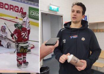 2+1 på mager speltid. Fin kväll för Frölundas Linus Nässén när hemmalaget 5–2-vann mot Timrå.
