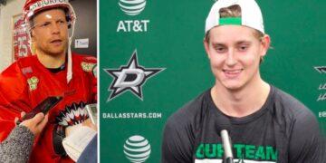 Ryan Lasch är inte det minsta förvånad av hur Jacob Peterson börjat sin NHL-karriär. Foto (Peterson): DALLASSTARS.COM