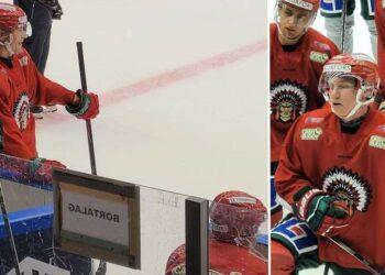 Johan Sundström kan spela med Ryan Lasch mot Leksand – och Noah Hasa SHL-debutera.